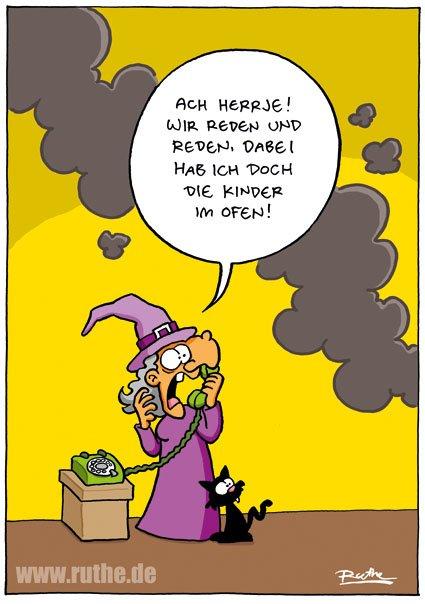...ich hab noch die kinder im ofen. http://ruthe.de/cartoon/