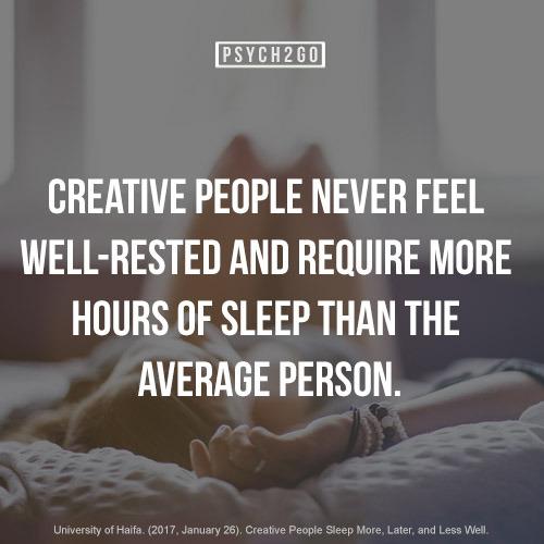 creative people never feel well ... | unterschreiben wir!