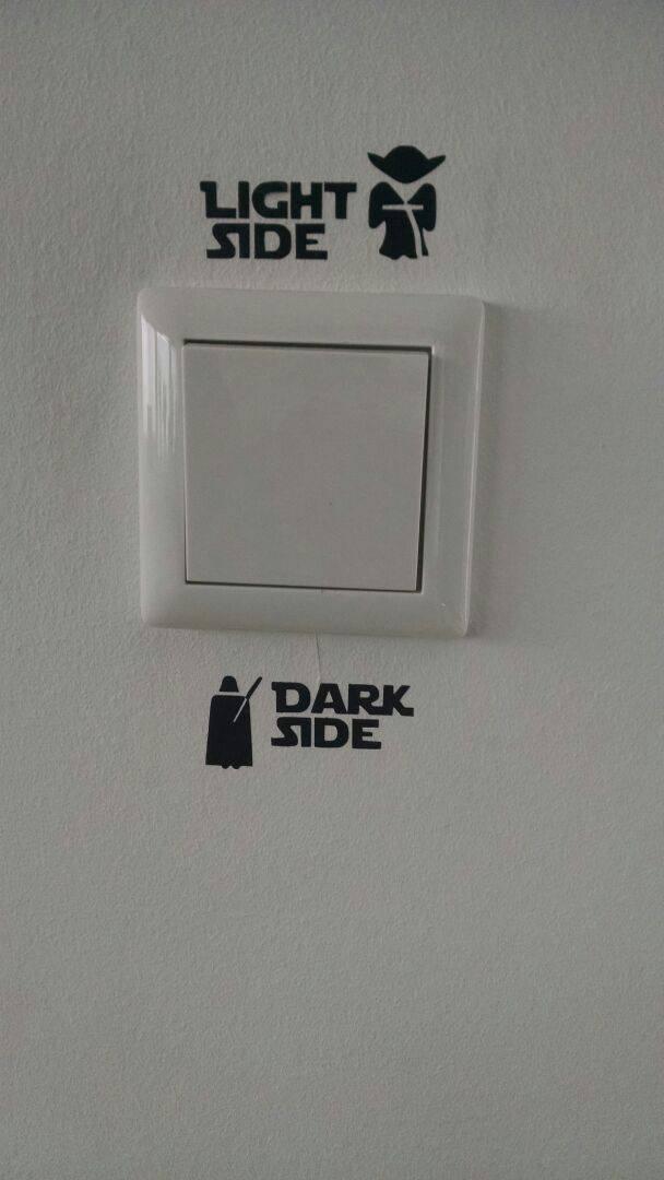light & dark side