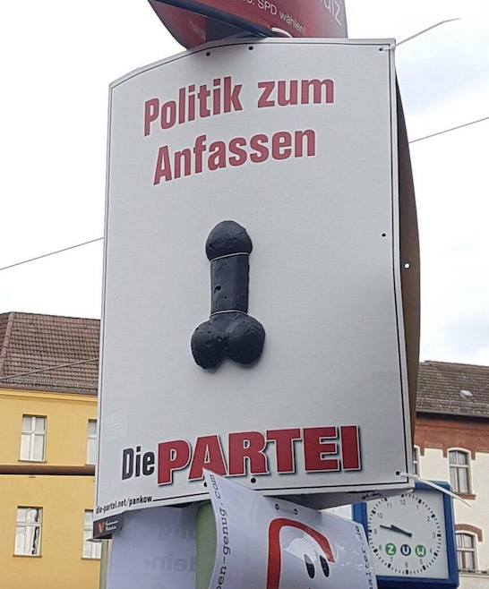 Politik zum Anfassen #2 | @die partei