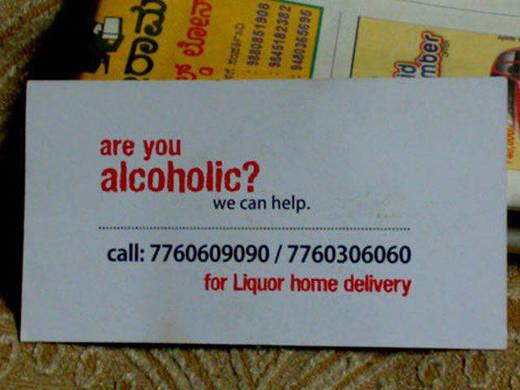 alkoholiker? da können wir helfen.