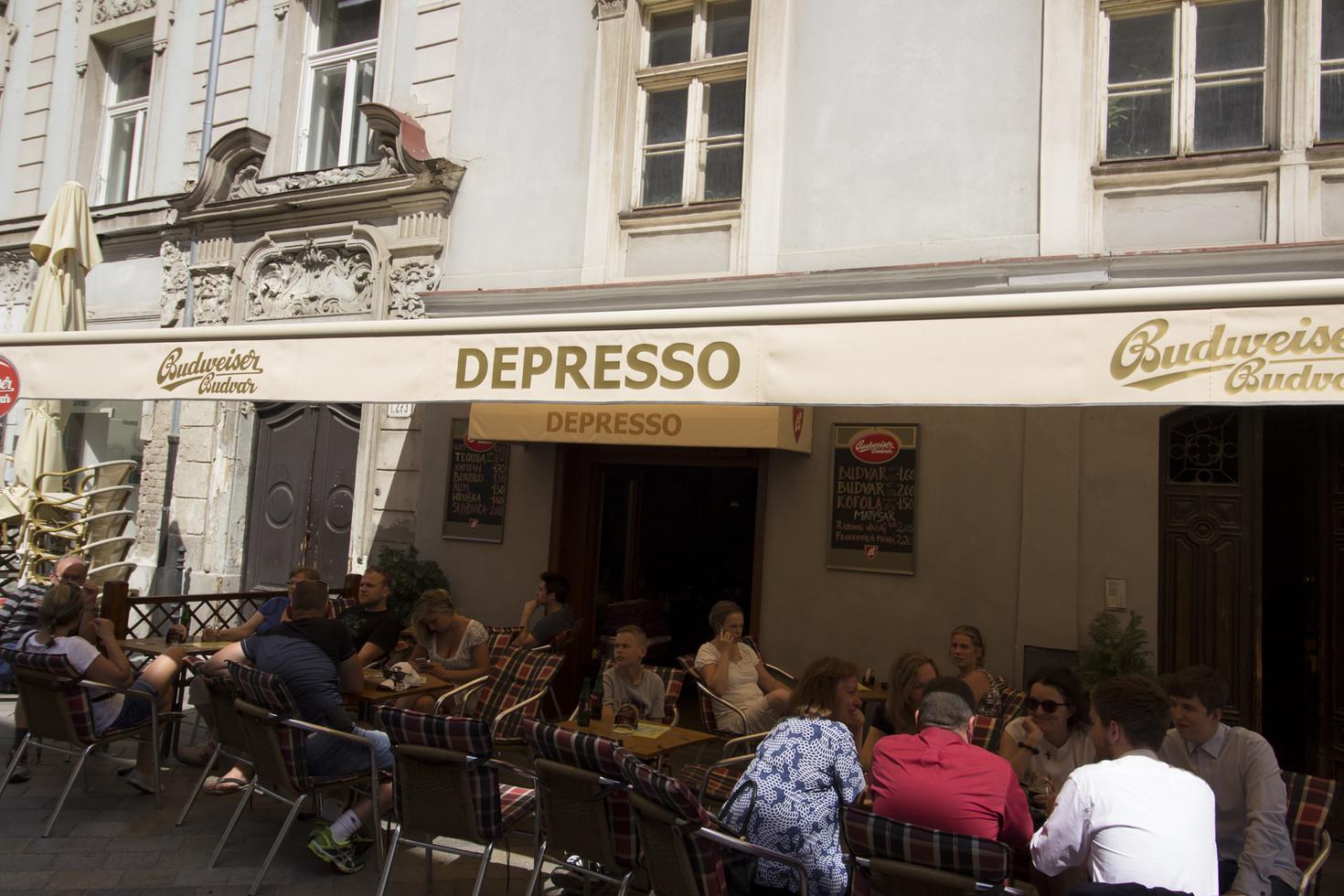 depresso ... und einen kaffee bitte.