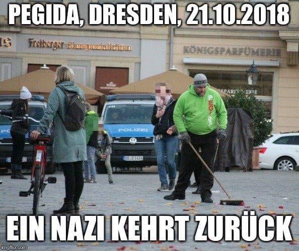 Pegida, Dresden, 21.10.2018