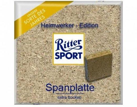 Ritter Sport - Heimwerker Edition