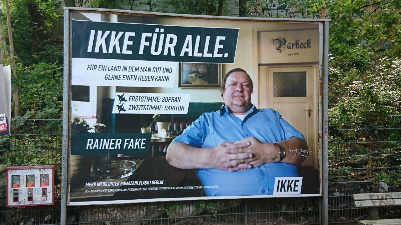 IKKE FÜR ALLE. RAINER FAKE | @IKKE