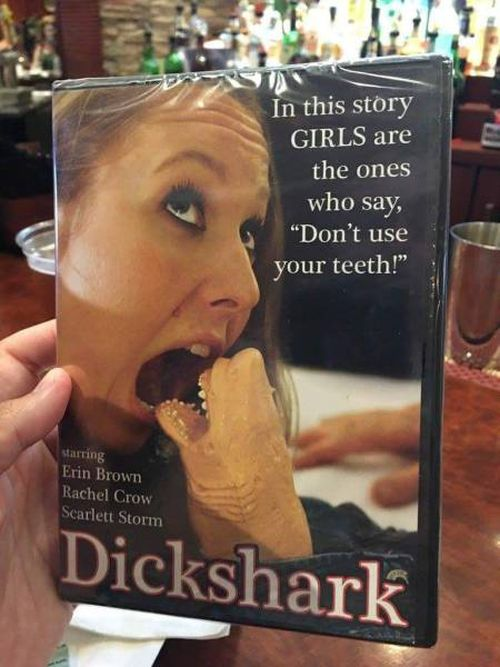 """""""Dickshark"""" - bitte was?"""