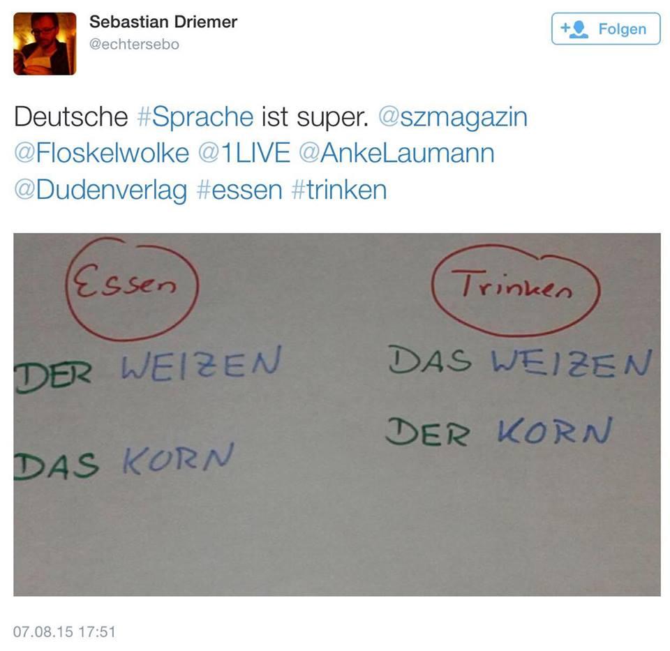 deutsche sprache ist super!