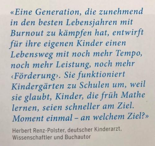 Kein Burnout mehr für die folgenden Generationen!