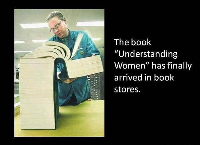 "'Unterstanding Women"" has finally arrived in book-stores."