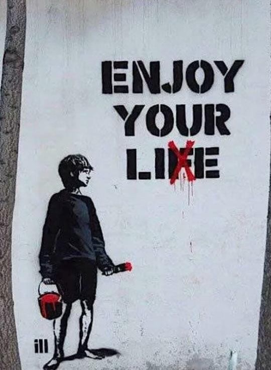 Enjoy your lie
