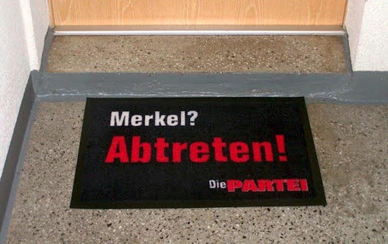 Merkel? Abtreten! | @die partei