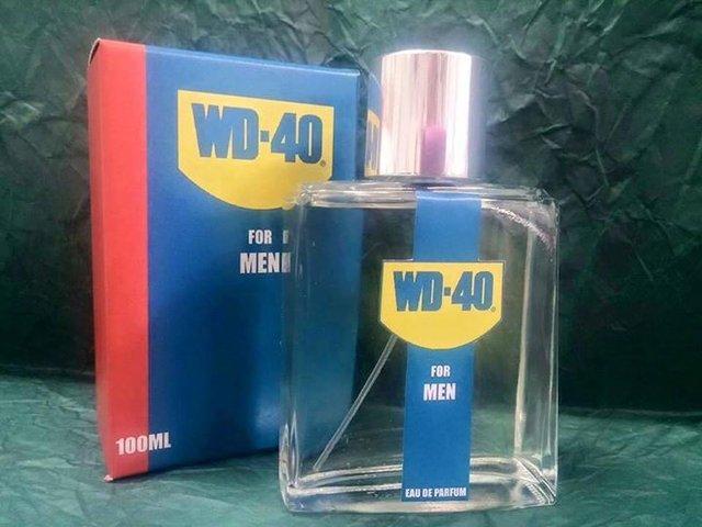 wd-40, für echte männer!