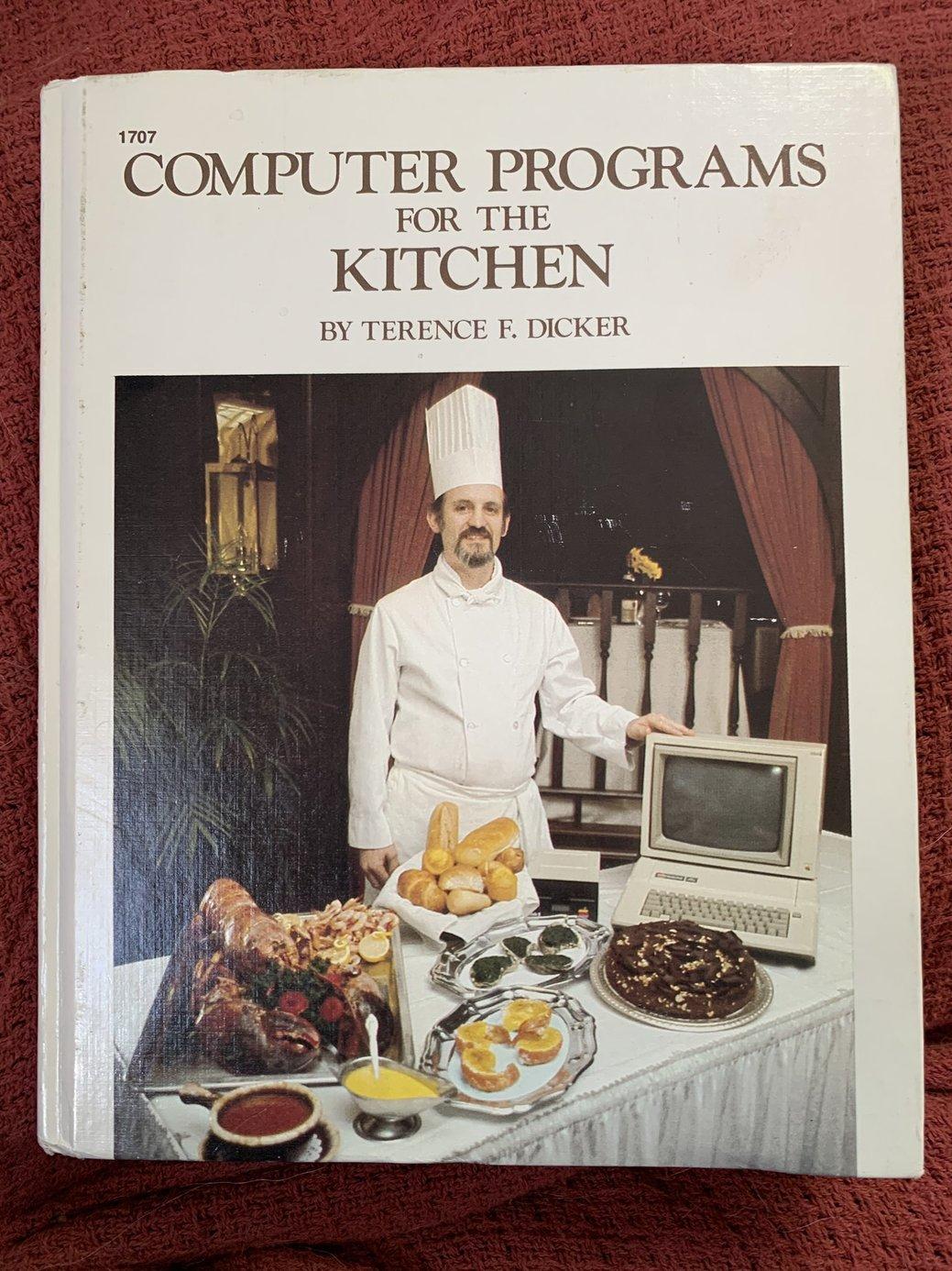 Computerprograms for the kitchen.