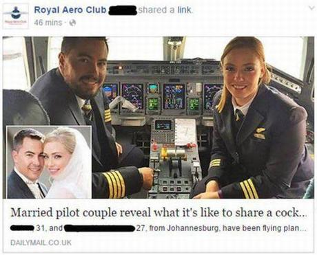 married pilot couple reveal what it's like to share a cock ....