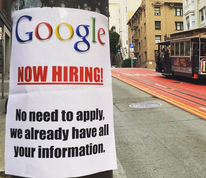 Google is now hiring!
