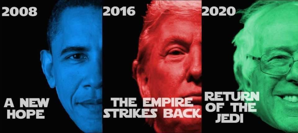 Return of the Jedi in 2020, maybe.