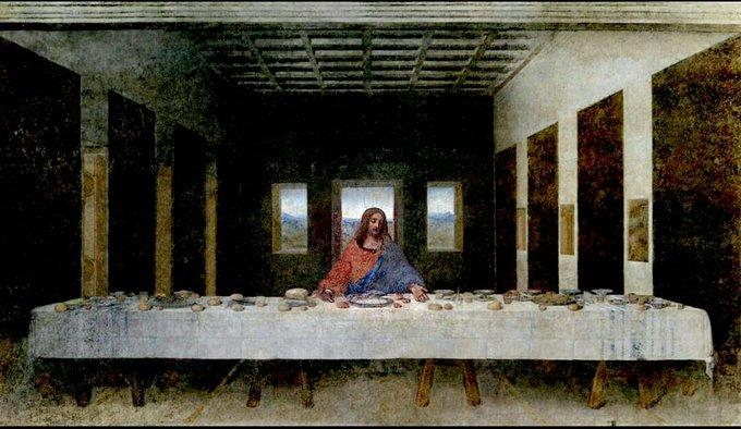 jesus, unsocial distancin