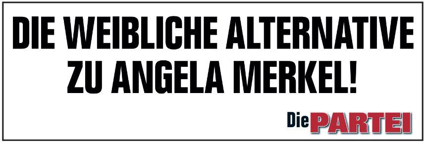 Die weibliche Alternative zu Angela Merkel! | @die partei
