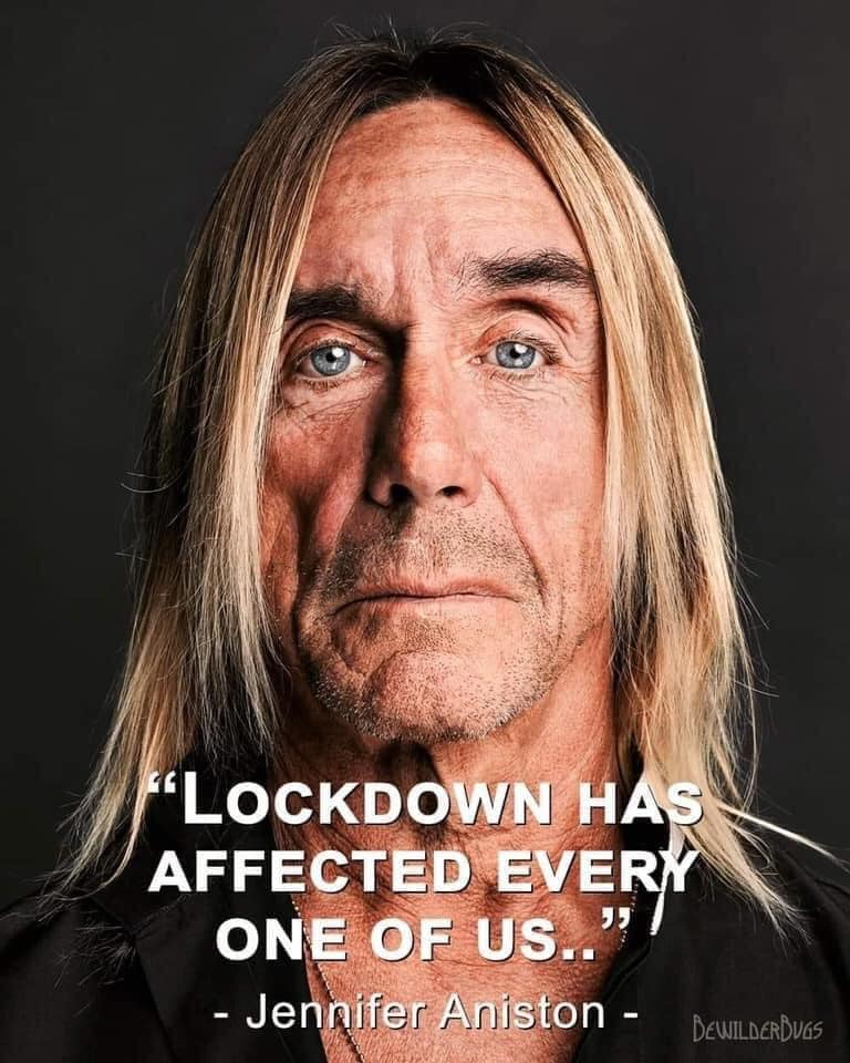 lockdown has affected every one of us, jennifer aniston