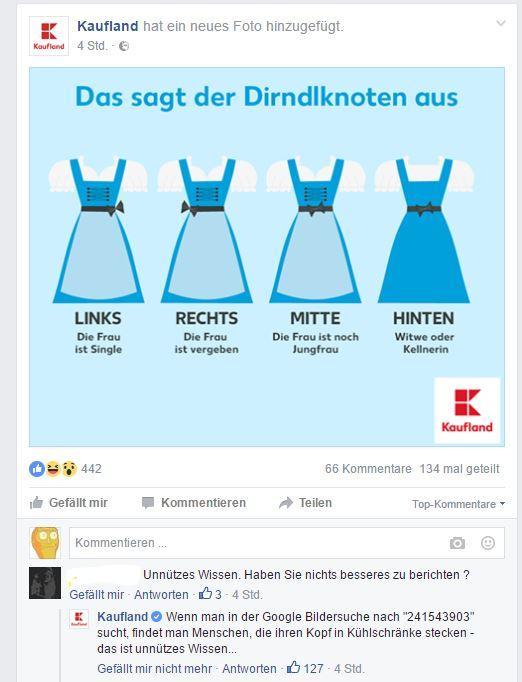 Kaufland Facebook Win