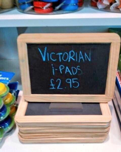 victorian i-pads!