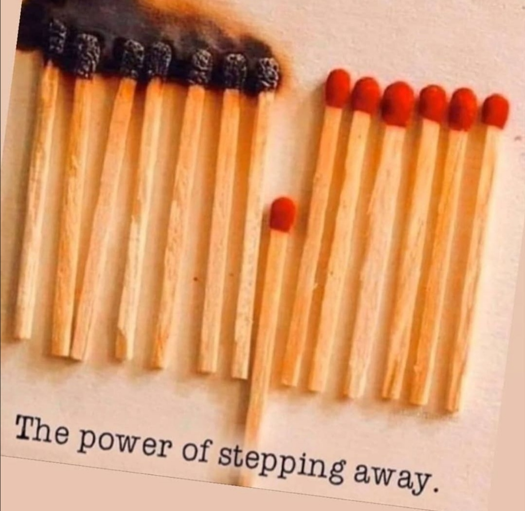 The power of stepping away.