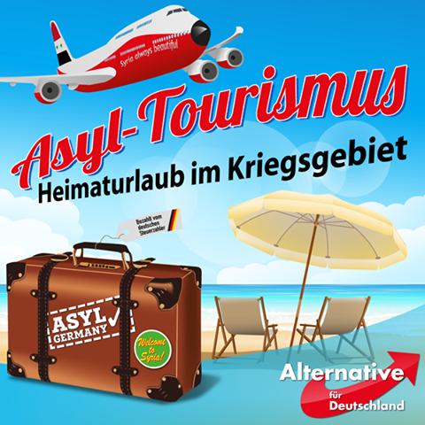 Asyl-Tourismus | Heimaturlaub im Kriegsgebiet.