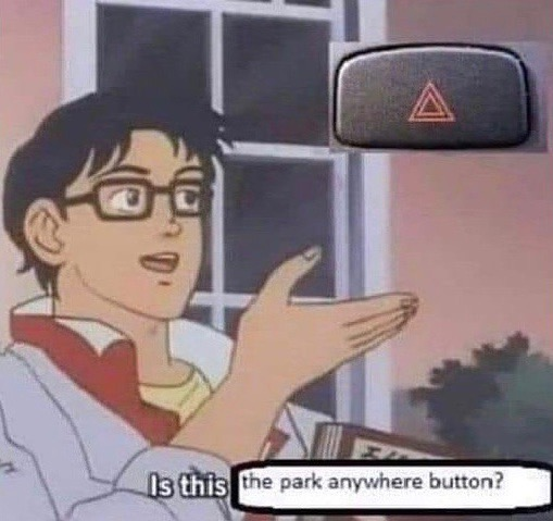 Is this the park anywhere button?