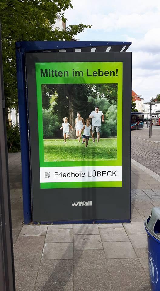 Mittem im Leben! Friedhöfe Lübeck?