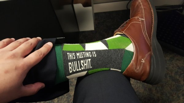 This meeting is bullshit.