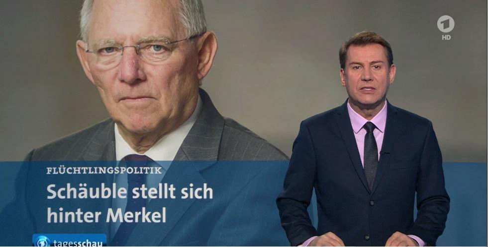 schäuble stellt sich hinter merkel ... ahja