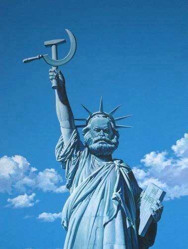 Statue of Real Liberty.