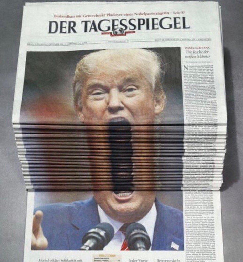 Donna' Trump macht den Mund auf!