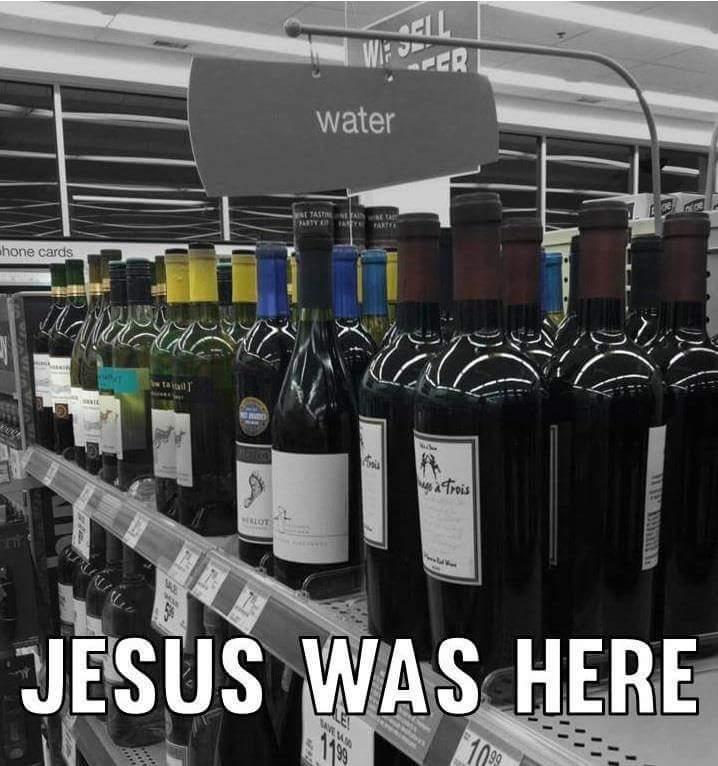 jesus war hier.