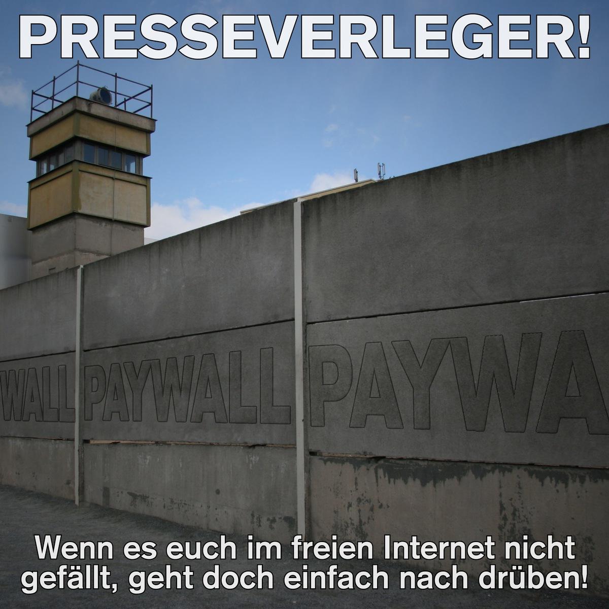 presse und paywall