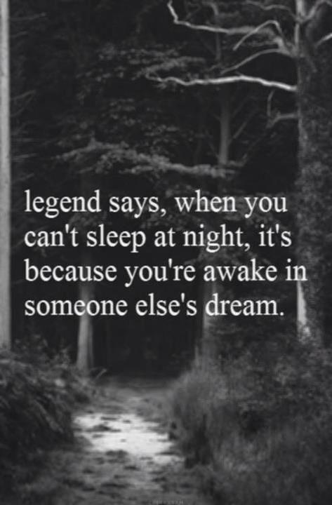 legend says ...