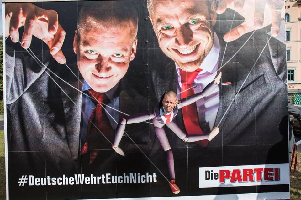 #DeutscheWehrtEuchNicht - nico, maxim | @die-partei