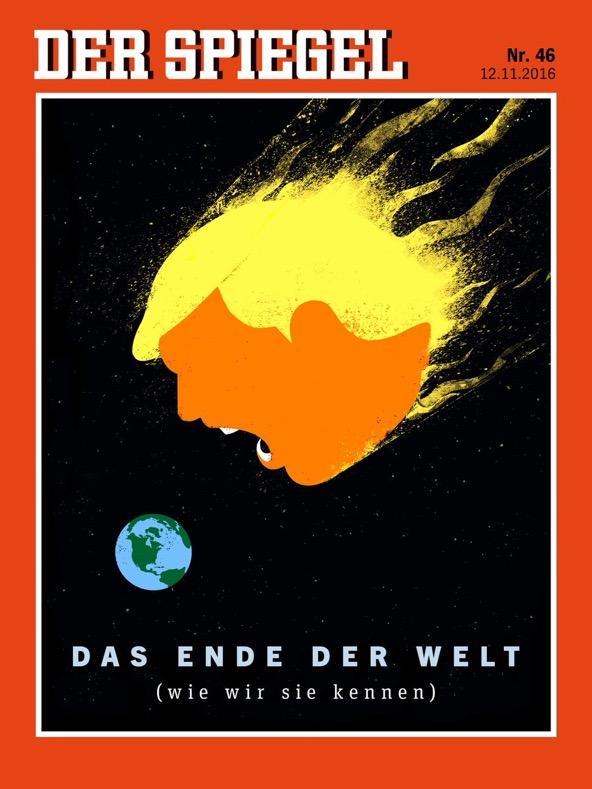 Das Ende der Welt, wie wir sie kennen. | @Der Spiegel