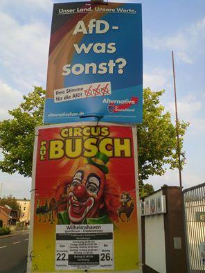 AfD - was sonst? Circus Busch! | Eine schöne Alternative.