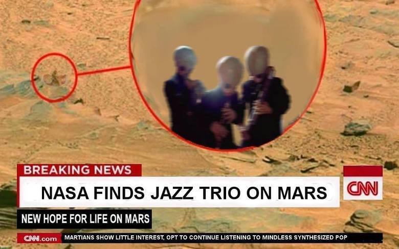 Nasa hat Trio auf dem Mars gefunden - DA-DA-DA!