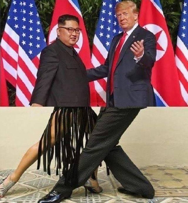 jong-un & trump
