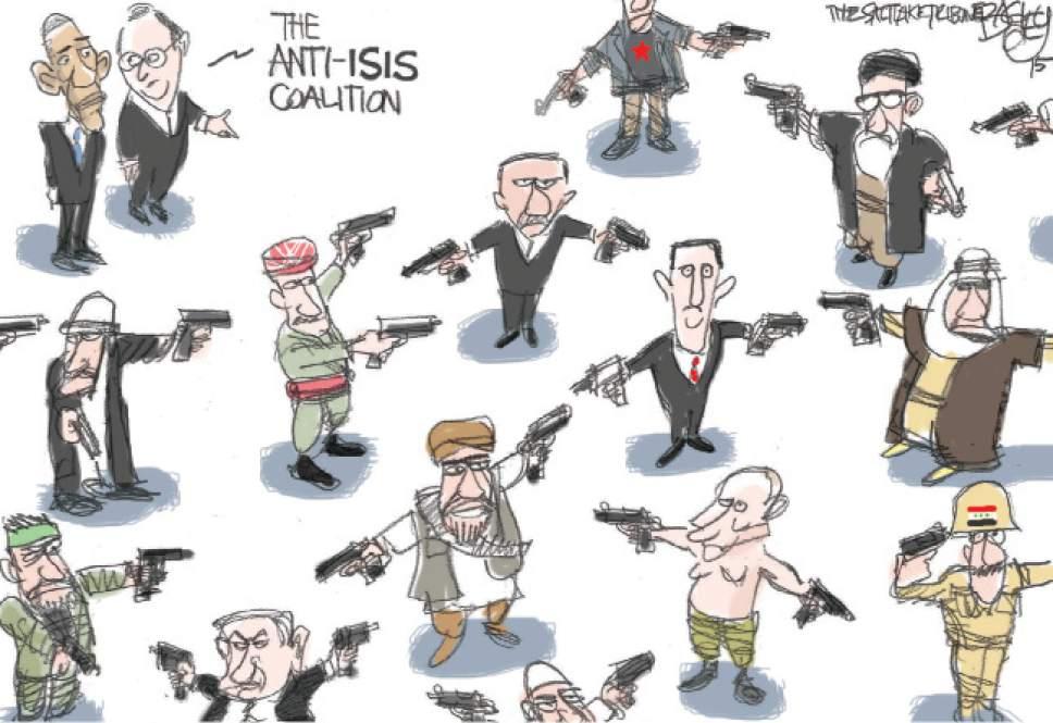 kurze aufstellung der syrienlage.