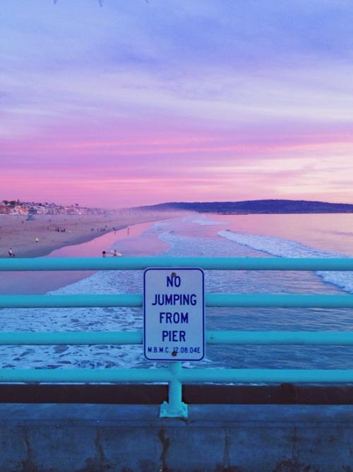 """""""no jumping from pier"""" - muss einfach mal gesagt werden."""