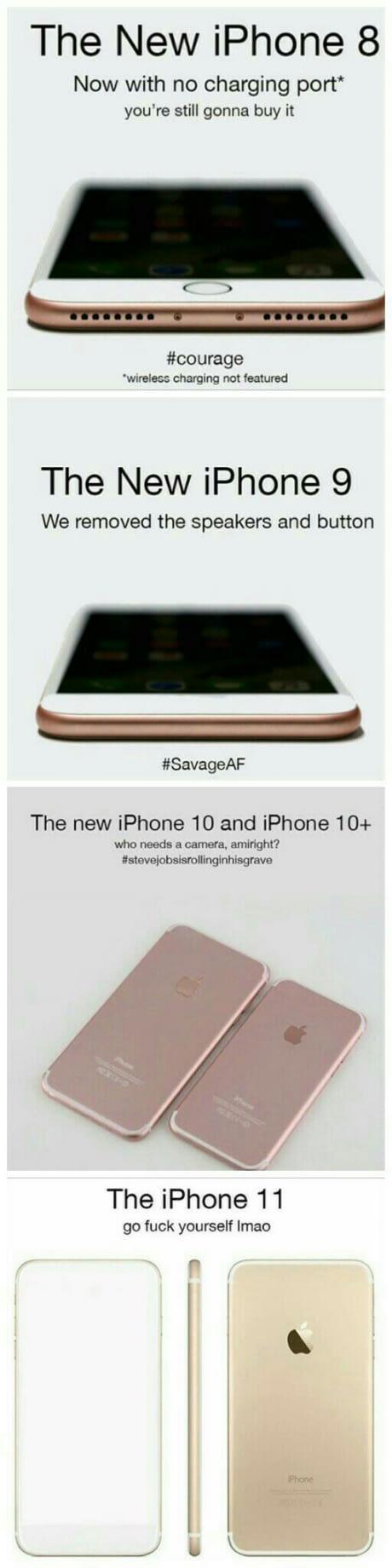 iPhone 8 | iPhone 9 | iPhone 10+ | iPhone 11