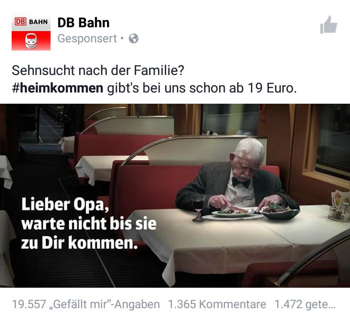 Guter Zug von der DB!