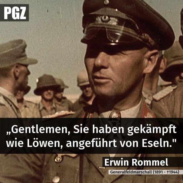 """""""... gekämpft wie Löwen, angeführt von Eseln."""""""