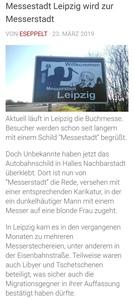 Messerstadt Leipzig