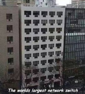 The worlds largest network switch