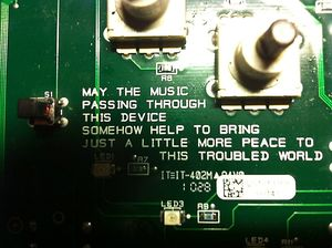 may the music passing through this device...