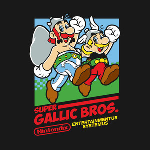 Super Gallic Bros. by Nintendix